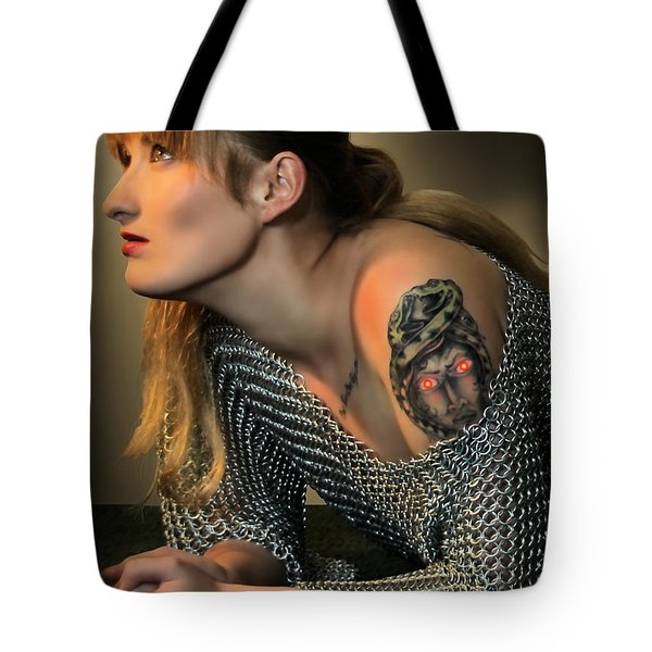 Mark Of The Medusa Tote Bag