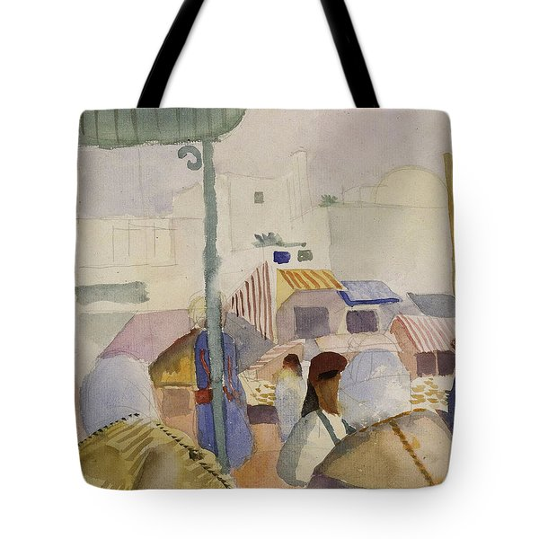 Market In Tunis II Tote Bag