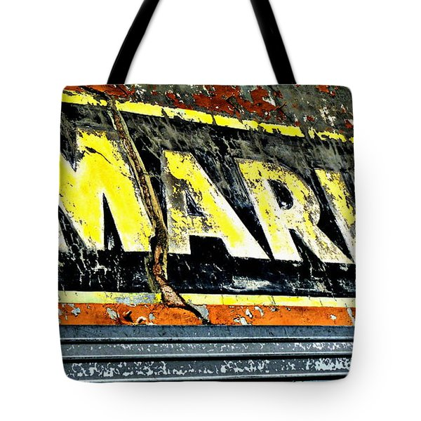 Market Sign Tote Bag
