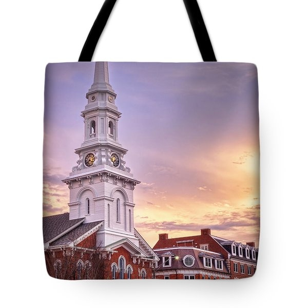 Market Square Rooftops Tote Bag