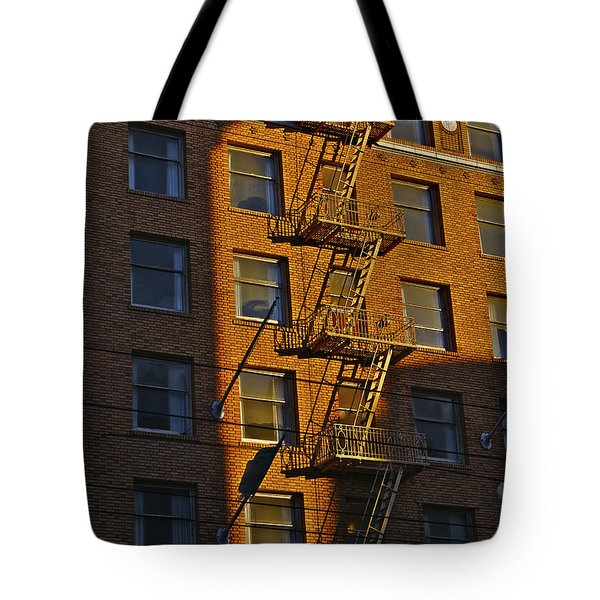 Market Street Area Building 4 Tote Bag