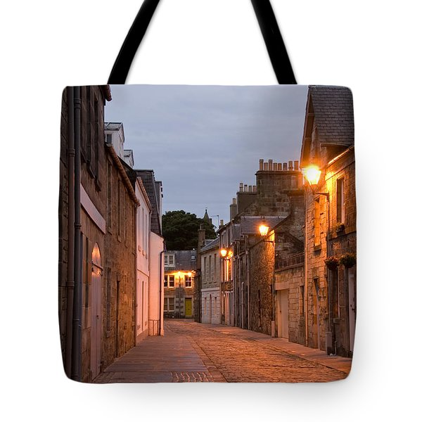 Market Street At Dusk Tote Bag