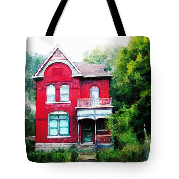 Market Street Tote Bag by Dave Luebbert