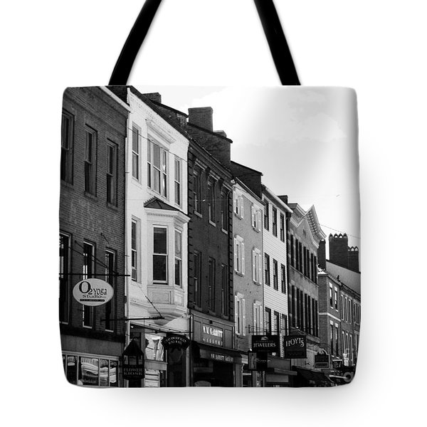 Market Street Tote Bag by Kevin Fortier