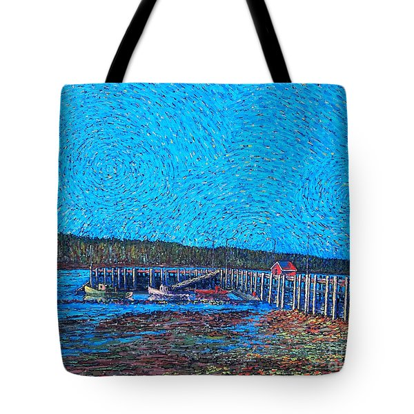 Market Wharf St. Andrews Nb Tote Bag