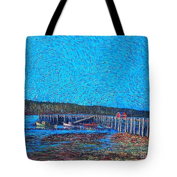 Market Wharf St. Andrews Nb Tote Bag