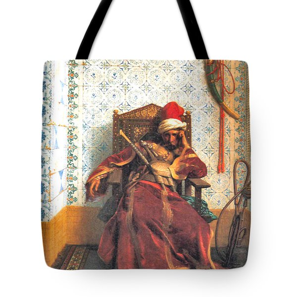 Markos Botsaris Tote Bag by Jean Leon Gerome