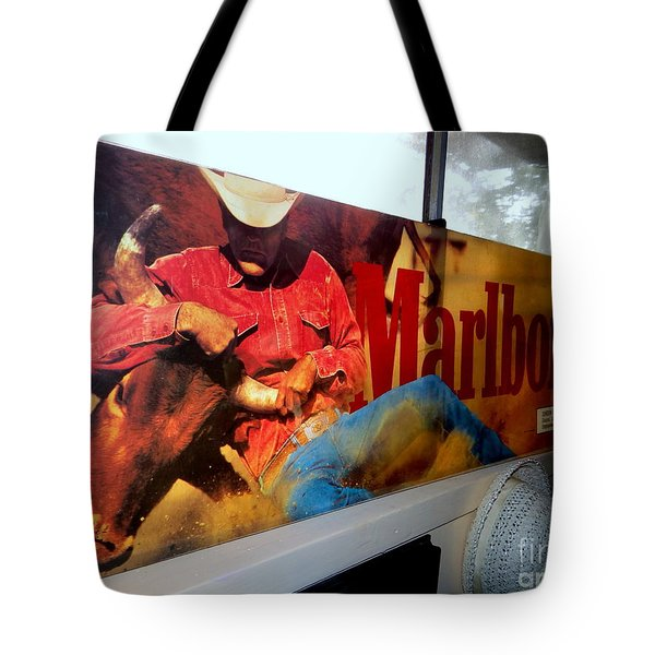 Marlboro Man Tote Bag