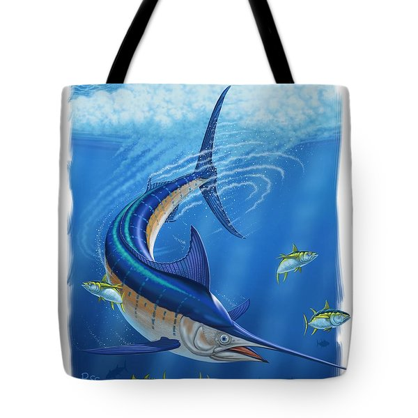 Marlin Tote Bag by Scott Ross