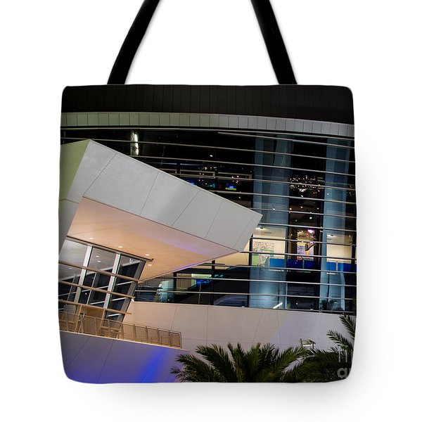 Marlins Park Stadium Miami 6 Tote Bag by Rene Triay Photography