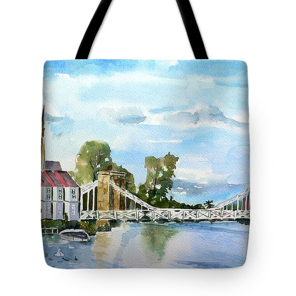 Marlow On Thames 2 Tote Bag