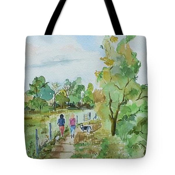 Marlow On Thames 3 Tote Bag