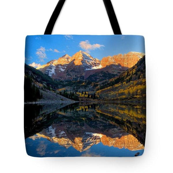 Maroon Bells Landscape Tote Bag