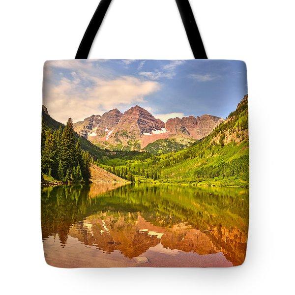 Maroon Bells Summer Tote Bag