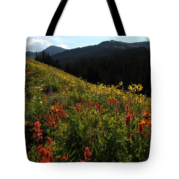 Maroon Bells Wilderness Tote Bag