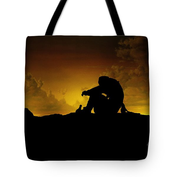 Marooned Pirate Tote Bag