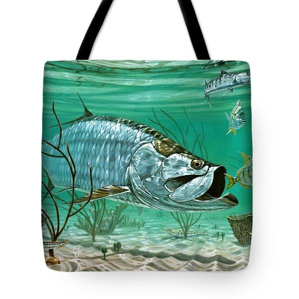 Marquesas Keys Tarpon Tote Bag