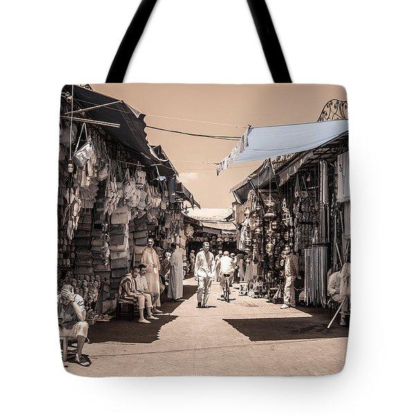 Marrakech Souk Tote Bag