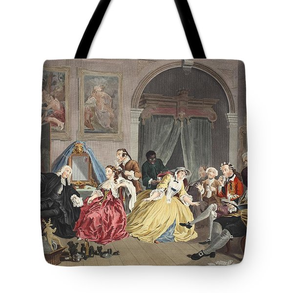Marriage A La Mode, Plate Iv, The Tote Bag