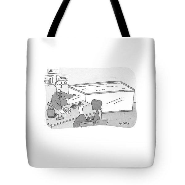 Marriage Counselor Tote Bag
