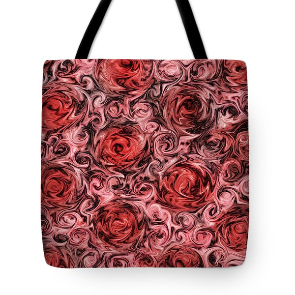 Marsala Roses Tote Bag