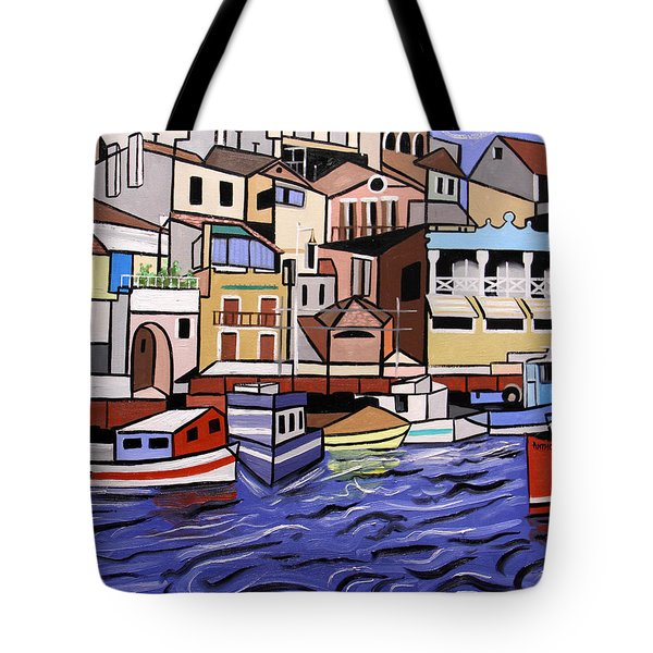 Marseille France Tote Bag by Anthony Falbo