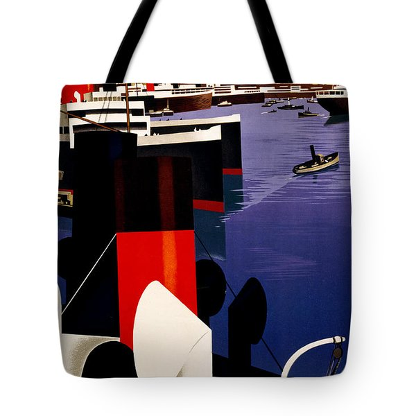 Marseille France Tote Bag by Georgia Fowler