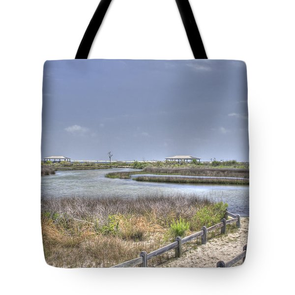 Marsh Tote Bag by David Troxel