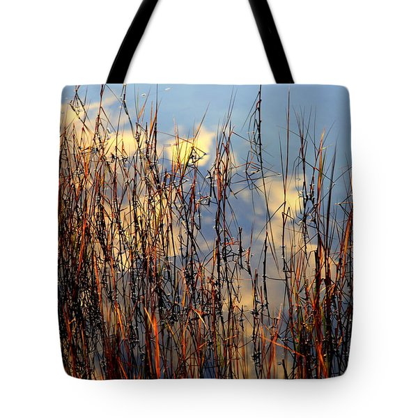 Marsh Mellow Clouds Tote Bag by Karen Wiles