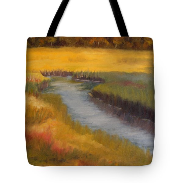 Marsh Mellow Tote Bag