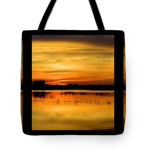 Marsh Rise Tiles 1-3 Tote Bag