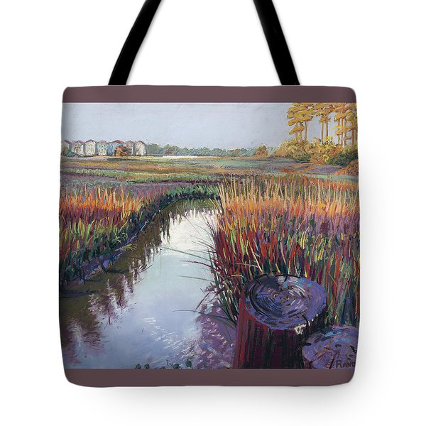Marsh View Tote Bag