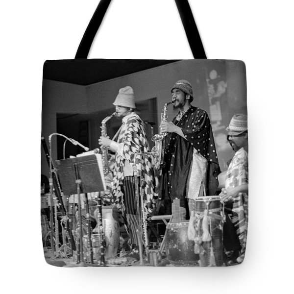 Marshall Allen And Danny Davis Tote Bag by Lee  Santa