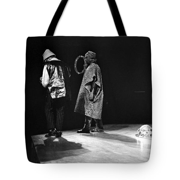 Marshall And Sonny 1968 Tote Bag by Lee  Santa