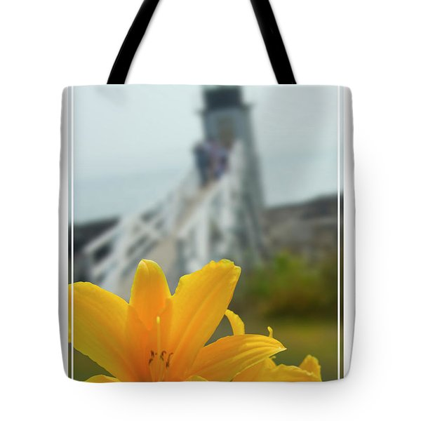 Marshall Point Lighthouse  Tote Bag by Mike McGlothlen