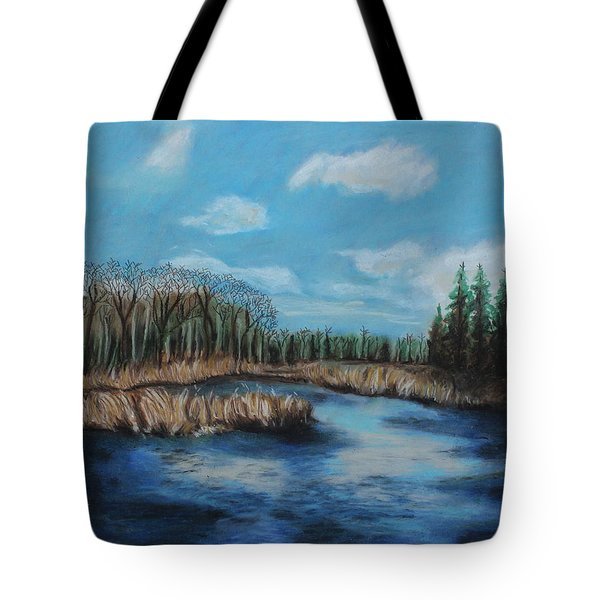 Marshland 1 Tote Bag by Jeanne Fischer