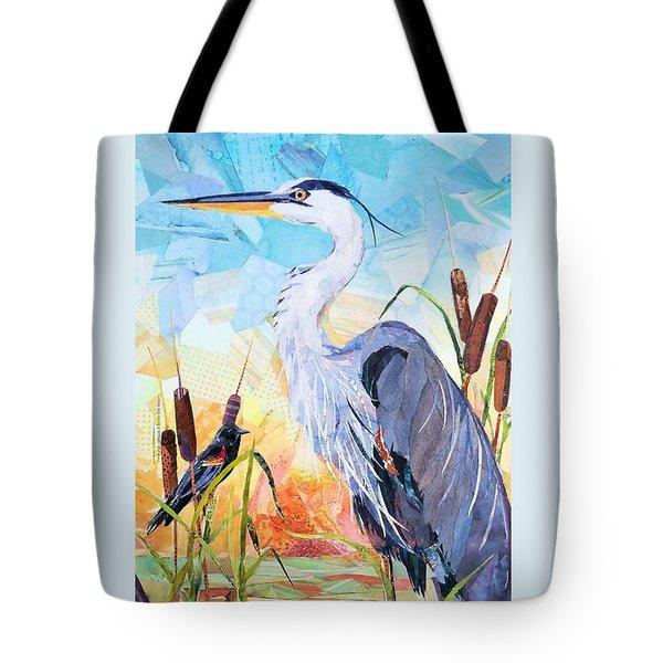 Marshland Moring Tote Bag