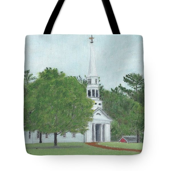 Martha Mary Chapel Tote Bag