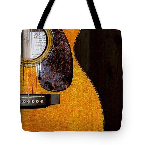 Martin Guitar  Tote Bag by Bill Cannon