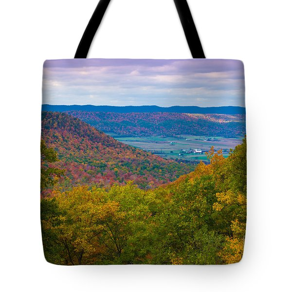 Martin Hill Foliage Tote Bag