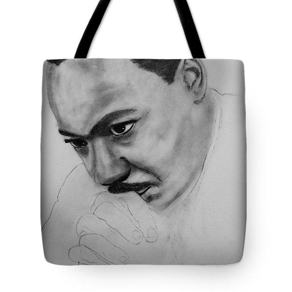 Martin Luther King Jr. Mlk Jr. Tote Bag by Michael Cross
