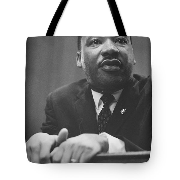 Martin Luther King Press Conference 1964 Tote Bag by Anonymous
