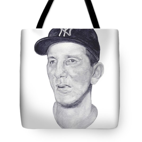 Tote Bag featuring the painting Martin by Tamir Barkan