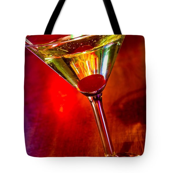 Martini At The Local Pub Tote Bag