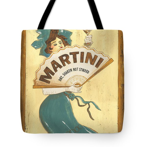 Martini Dry Tote Bag by Debbie DeWitt