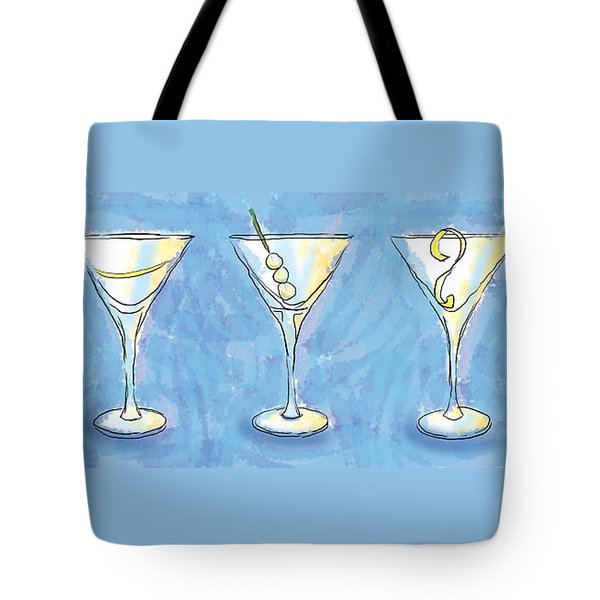 Martini Lunch Tote Bag