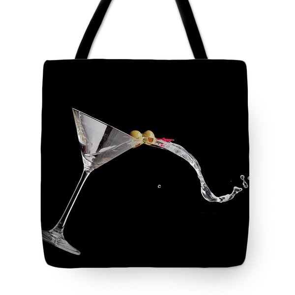 Martini Spill Tote Bag