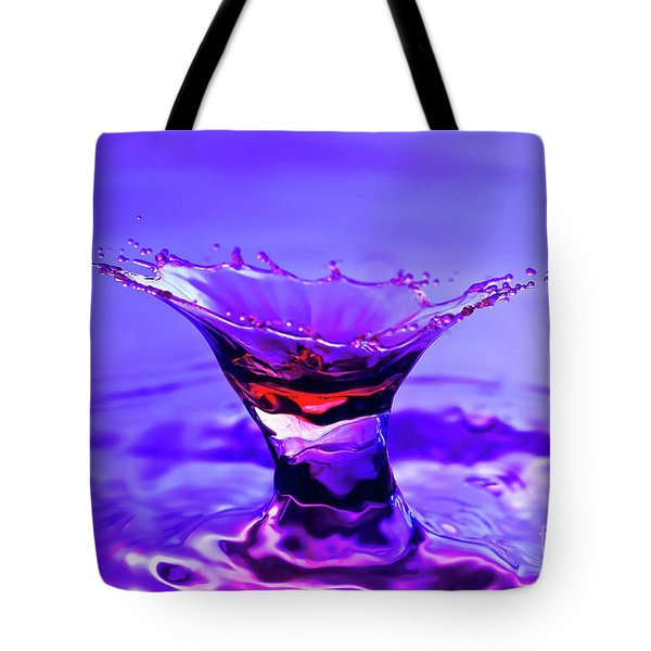 Martini Splash Tote Bag
