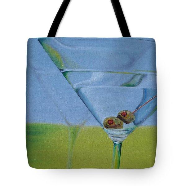 Martini Time Tote Bag