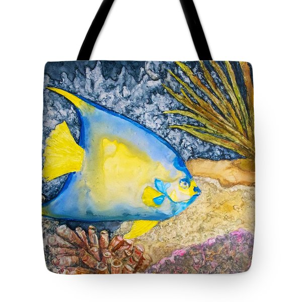 Martinique Angel Tote Bag